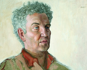 Robert Graves - Portrait by Mati Klarwein - 1957