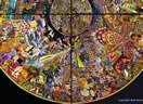 Pop art by Mati Klarwein - Grain of Sand (1963 - 1965)